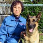 強盗容疑者を追いつめた嘱託犬の鼻 シェパードのベリー号 今年2回目の表彰