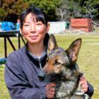 「大好きな犬と学び、現場に行ける仕事!」岩政真理さん 25歳 嘱託警察犬の訓練士
