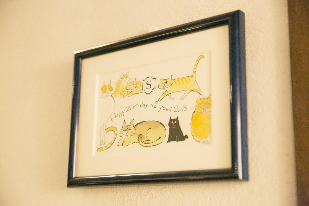 猫のイラストもたくさん描くソリマチさん