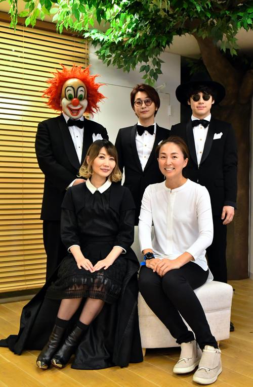 SEKAI NO OWARIのメンバーと大西純子さん