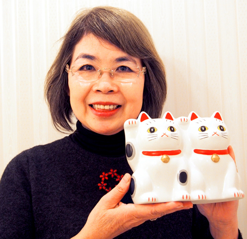 今戸神社宮司夫人 市野惠子さん