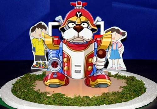 ヤッターワンのモニュメントのイメージ=(C)タツノコプロ・読売テレビ2008